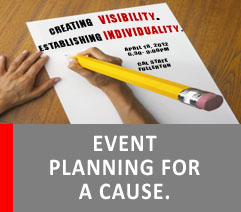 EVENT PLANNING FOR A CAUSE