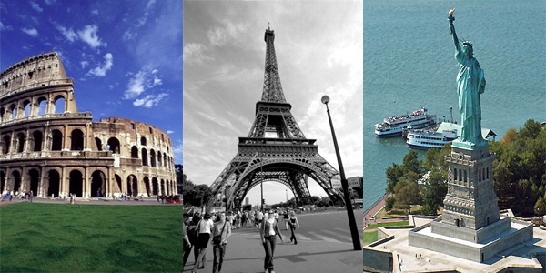 Top 10 monuments around the world for Monumental buildings around the world