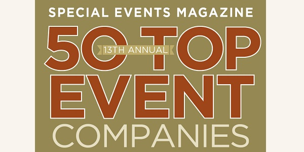 "JNR Incorporated Named ""Top 50 Event Company"" by Special Events Magazine"