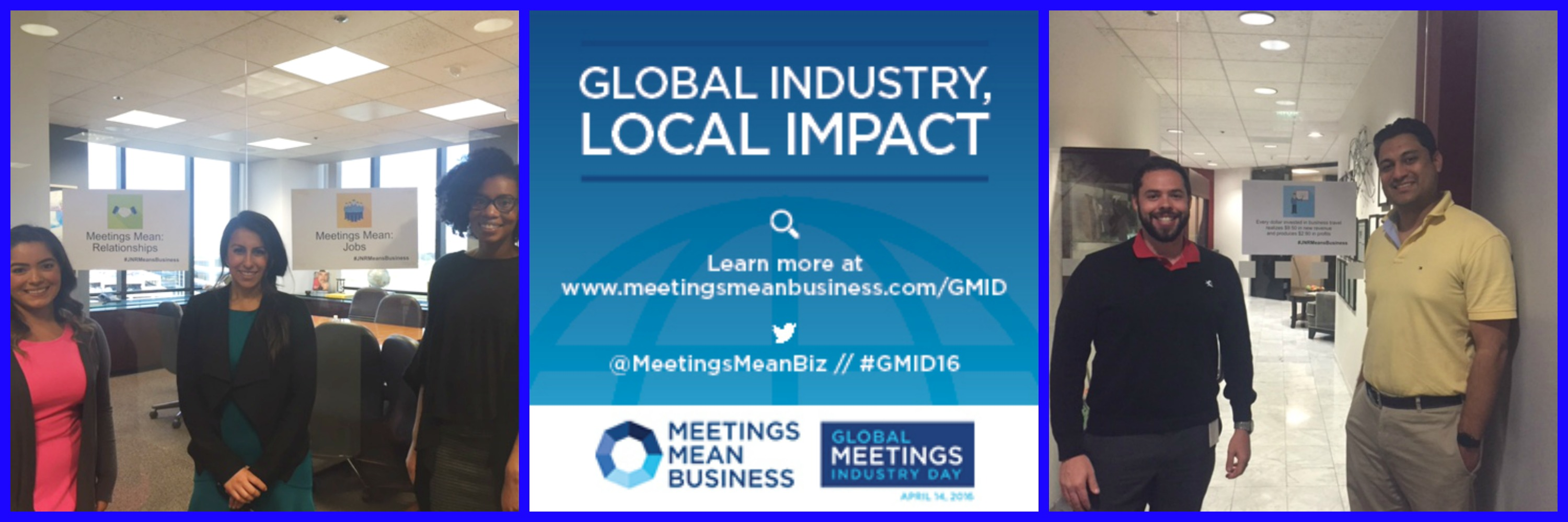 JNR Joins Global Meetings Industry Day