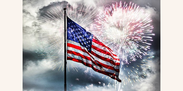 Celebrating the Land of the Free and the Home of the Brave!